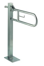 Mediclinics Medinox Vertical Swing Grab On Fixed Column Satin