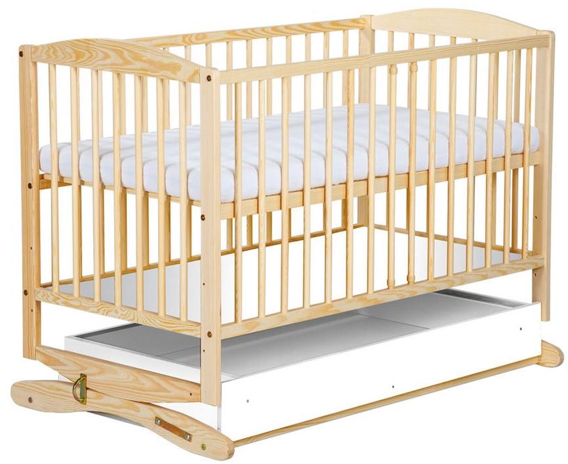 Bērnu gulta Klups Radek Pine, 120x60 cm