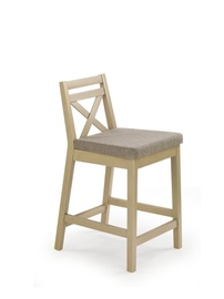 Halmar Borys Low Bar Stool Sonoma Oak