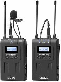 Mikrofons Boya Dual-Channel Wireless Microphone BY-WM8 Pro-K1 UHF