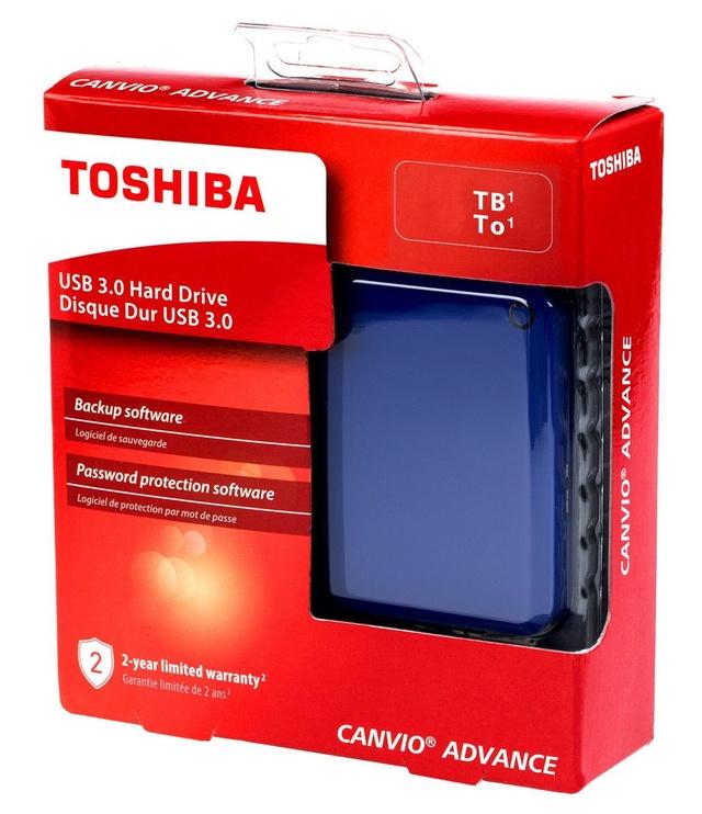 "Toshiba Canvio Advance 2.5"" 3TB USB 3.0 Blue"