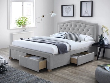 Signal Meble Electra Bed 160x200cm Grey