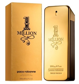Parfüümid Paco Rabanne 1 Million 200ml EDT