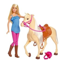 Mattel Barbies Horse And Doll FXH13