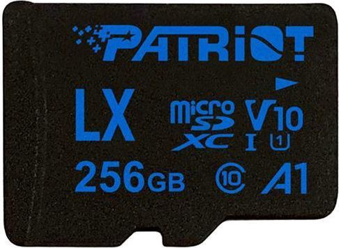 Patriot LX Series 256GB MICRO SDXC V10