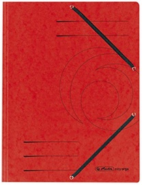 Herlitz Flap File 10843902 Red