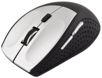 Kompiuterio pelė Esperanza EM123 Black/Silver, bevielė, optinė