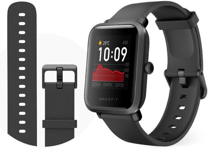 Išmanusis laikrodis Amazfit BIP S, juoda