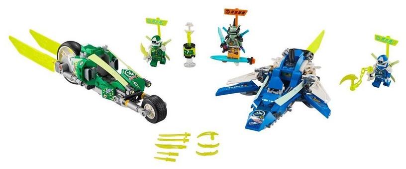 Конструктор LEGO Ninjago Jay And Lloyds Velocity Racers 71709 71709, 322 шт.