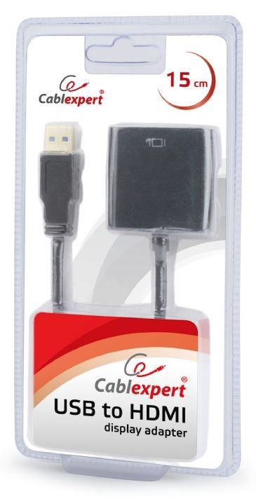 Gembird Adapter HDMI / USB Black