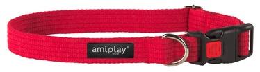 Kaklasiksna Amiplay 28-40x1,5cm, sarkana