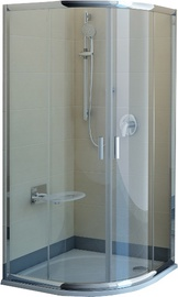 Pusapvalė dušo kabina Ravak Blix BLCP4-90, 90x90x190 cm, be padėklo
