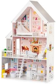 EcoToys Wooden Doll House XXL Residence White