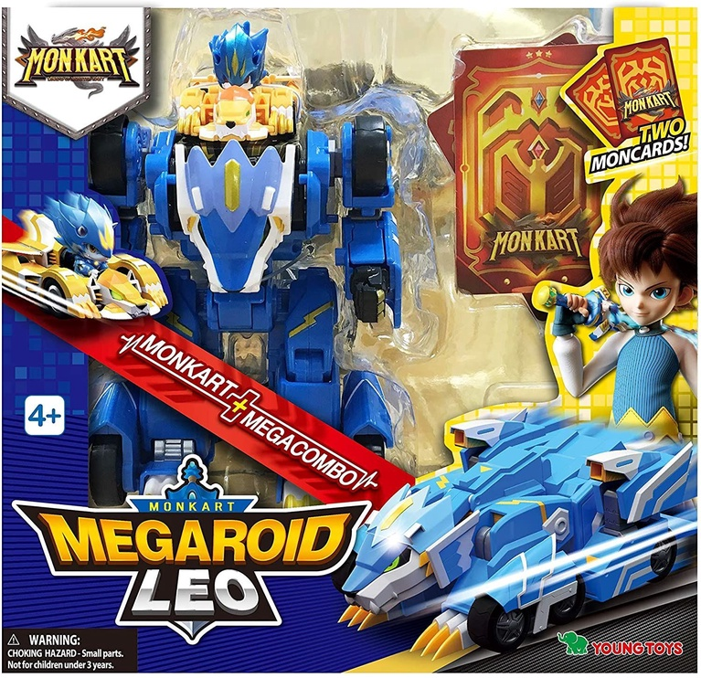Young Toys Monkart Megaroid Leo