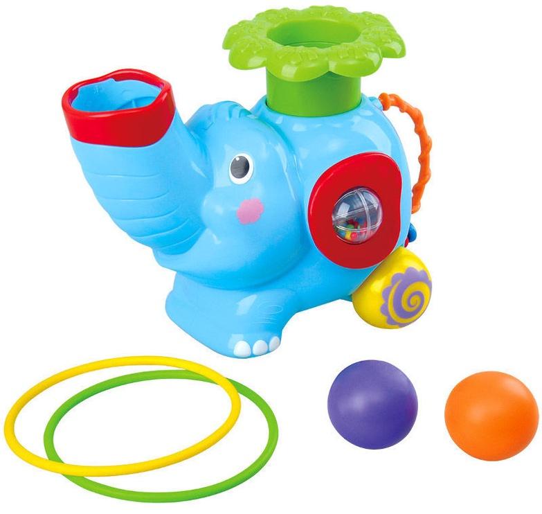 PlayGo Pop N Hoop Roller Elephant 2994