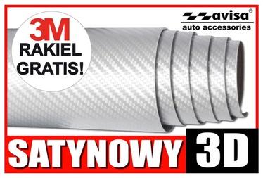 Наклейки SN Car Sticker Carbon 1/27015 38x50cm White