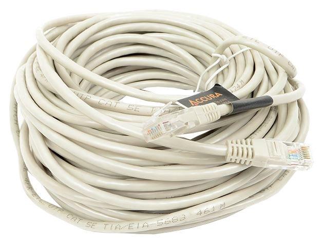 Accura Cable UTP Cat 5e RJ45 / RJ45 Gray 20m