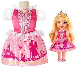 Jakks Pacific Princess Aurora and Toddler Dress Set JKS-77029