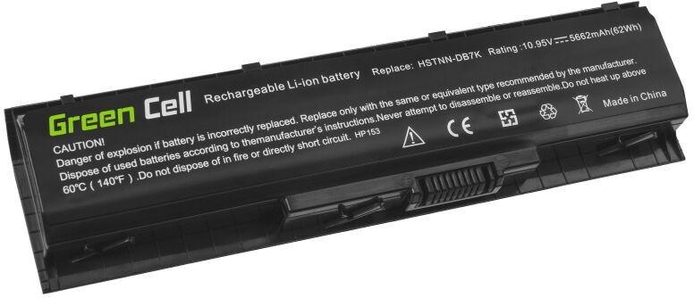 Green Cell Laptop Battery For HP Pavilion HSTNN-DB7K 5662mAh