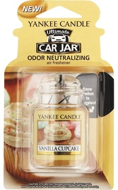 Yankee Candle Car Jar Ultimate Vanilla Cupcake 30g