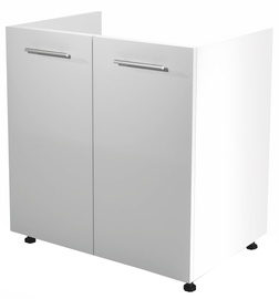 Нижний кухонный шкаф Halmar Under The Sink Vento DK-80/82 White/Honey Oak, 800x520x820 мм