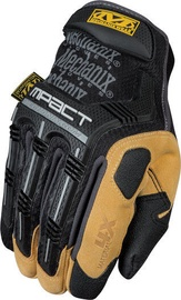 Töökindad Mechanix Wear M-Pact Gloves Black/Brown Size 8