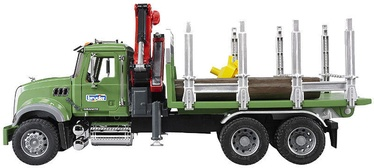 Bruder MACK Granite Timber Truck With 3 Trunks 02824