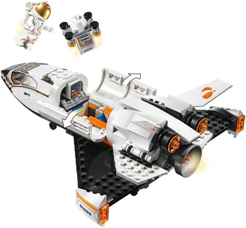 Konstruktorius LEGO® City 60226 Marso tyrimų erdvėlaivis