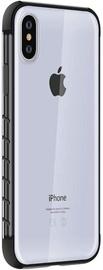 Чехол Devia Dulax Series for iPhone XS Max, прозрачный/черный