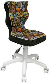 Детский стул Entelo ST28 White/Black, 370x350x830 мм