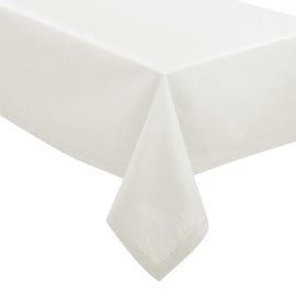 JJA Cotton Tablecloth 140x240cm White