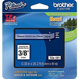 Этикет-лента для принтеров Brother TZ-E121, 800 см