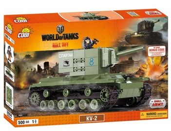 Cobi Small Army World of Tanks KV2 3004