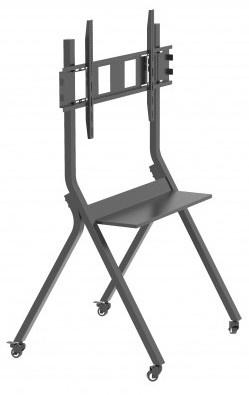 "Hoidik Techly Mobile Floor Trolley, 30-110"", 50 kg"