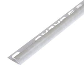Plaadiliist, väline, 7/2,5 mm, 017134, valge marmor
