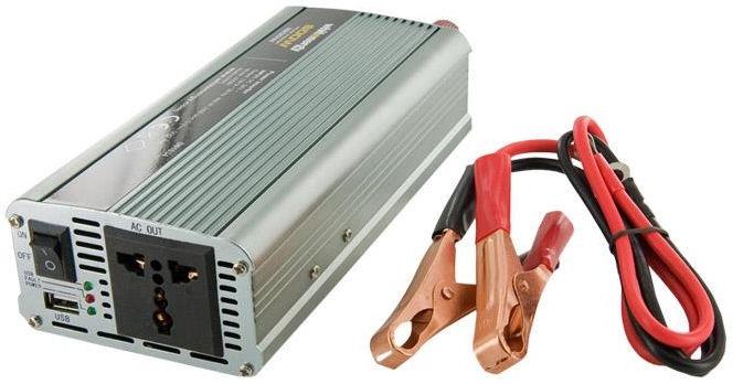 Whitenergy Power Inverter 24V DC To 230V AC USB 800W