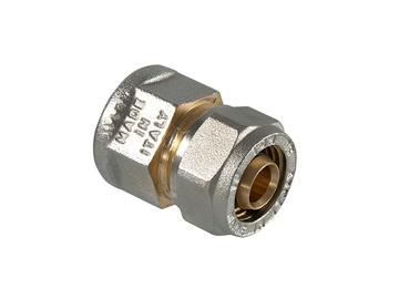 Užveržiamoji jungtis, TDM Brass, 1 IN x 26 mm, su vidiniu sriegiu