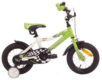 "Vaikiškas dviratis Romet Salto 12"" Green 18"