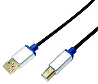 LogiLink Cable USB / USB Black 1.5m