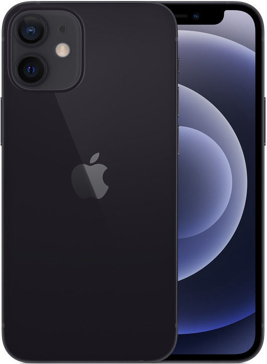 Mobilusis telefonas Apple iPhone 12 mini Black, 128 GB