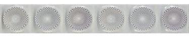APE Sensazione Tile Border 10x60cm Malva/Lavanda