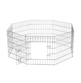 Metalinė gyvūnų tvorelė Beeztees, 8 dalių, 30 x 23 x 19 cm