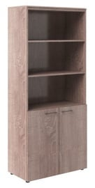 Skyland Wave WHC 85.5 Office Cabinet Sonoma Oak