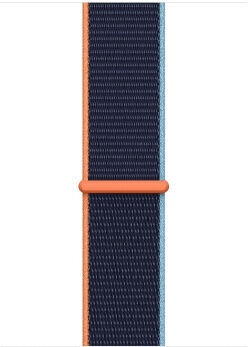 Apple Watch SE GPS LTE 44mm Silver Aluminum Deep Navy Sport Loop