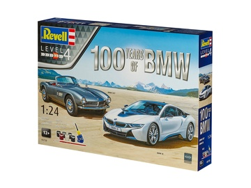 Revell Gift Set 100 Years BMW 1:24 05738R