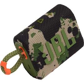 Belaidė kolonėlė JBL GO 3, žalia, 4 W