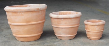 SN Ceramic Flower Pot TP16-194 D30cm Brown