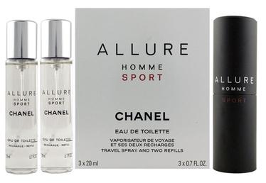 Tualetinis vanduo Chanel Allure Sport 3x20ml EDT