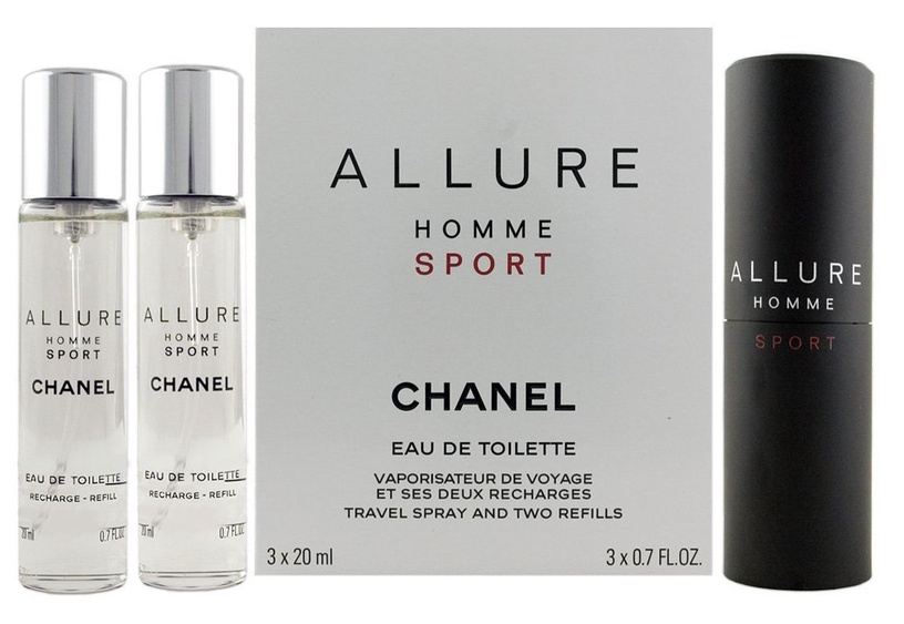 Kvepalai Chanel Allure Sport 3x20ml EDT