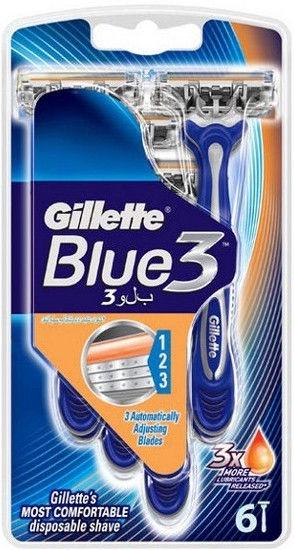 Gillette Blue3 Disposable Razors 6pcs